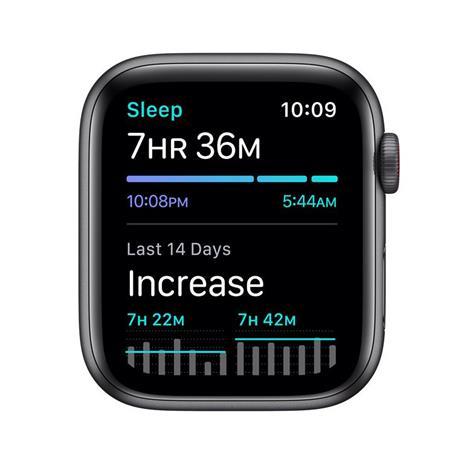 Apple Watch SE Nike OLED 44 mm Grigio 4G GPS (satellitare) - 2