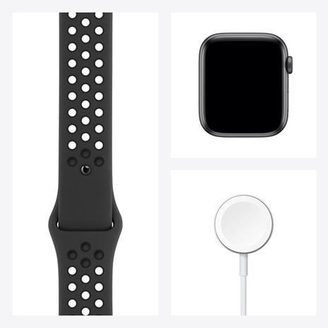 Apple Watch SE Nike OLED 44 mm Grigio 4G GPS (satellitare) - 5