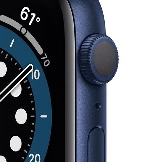 Apple Watch Series 6 OLED 40 mm Blu GPS (satellitare) - 6