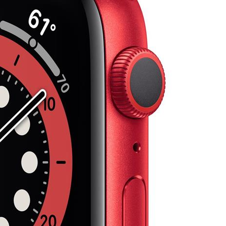 Apple Watch Serie 6 GPS, 40mm in alluminio PRODUCT(RED) con cinturino Sport PRODUCT(RED) - 6
