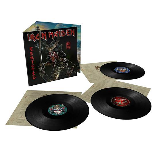 Senjutsu (Deluxe Heavyweight 180 gr. Triple Black Vinyl) - Vinile LP di Iron Maiden - 3