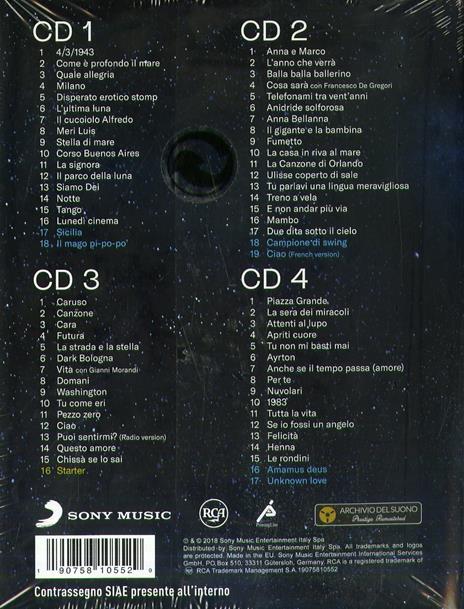 Duvudubà (Remastered - Box Set with Booklet) - CD Audio di Lucio Dalla - 2