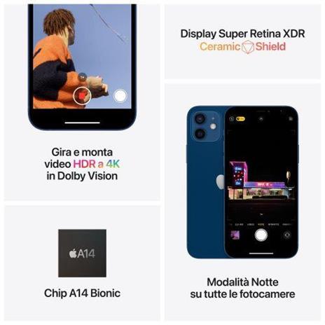 Apple iPhone 12 64GB - Bianco - 3