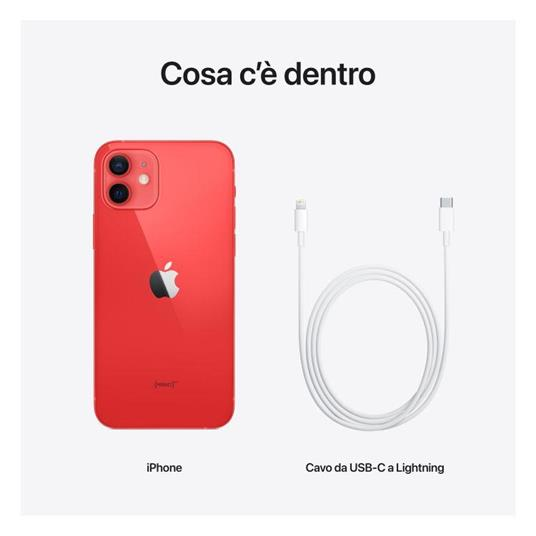Apple iPhone 12 128GB - (PRODUCT)RED - 5