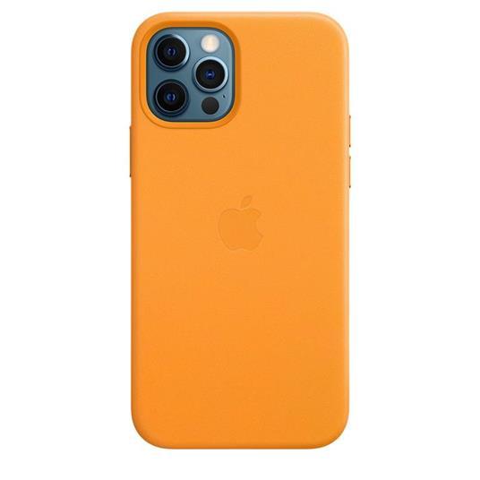 Apple Custodia MagSafe in pelle per iPhone 12   12 Pro - California Poppy - 3