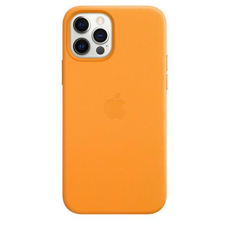 Apple Custodia MagSafe in pelle per iPhone 12   12 Pro - California Poppy - 6