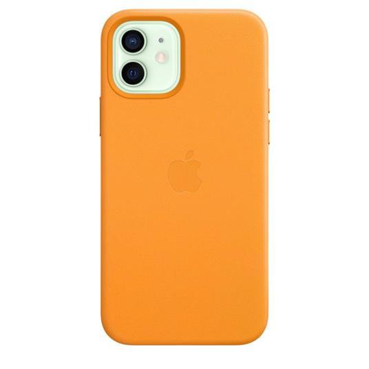 Apple Custodia MagSafe in pelle per iPhone 12   12 Pro - California Poppy - 8