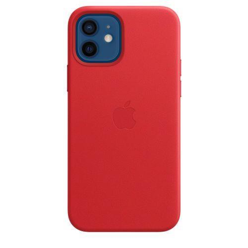Apple Custodia MagSafe in pelle per iPhone 12   12 Pro - (PRODUCT)RED