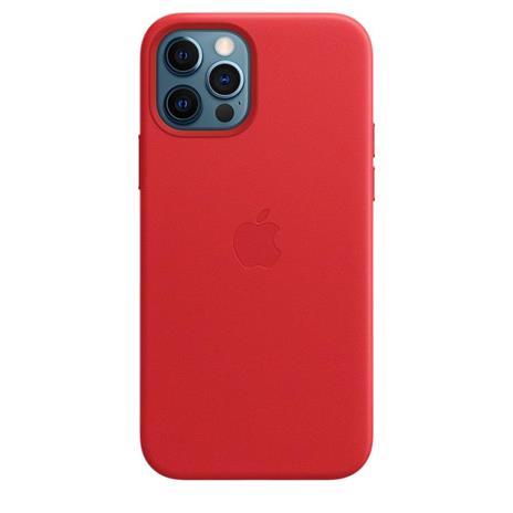 Apple Custodia MagSafe in pelle per iPhone 12   12 Pro - (PRODUCT)RED - 3