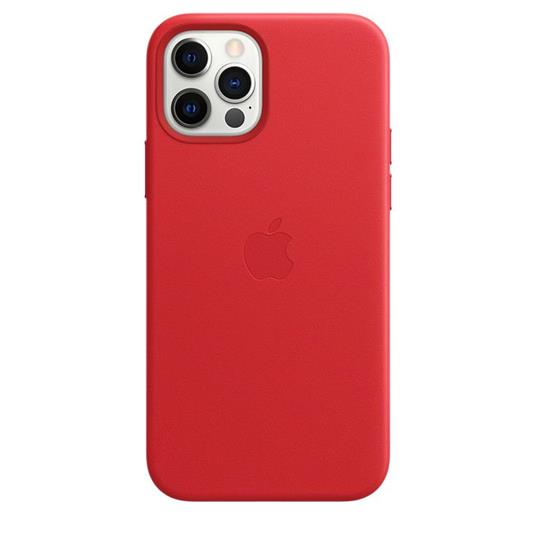 Apple Custodia MagSafe in pelle per iPhone 12   12 Pro - (PRODUCT)RED - 6