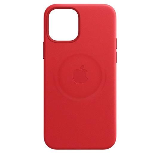 Apple Custodia MagSafe in pelle per iPhone 12   12 Pro - (PRODUCT)RED - 7
