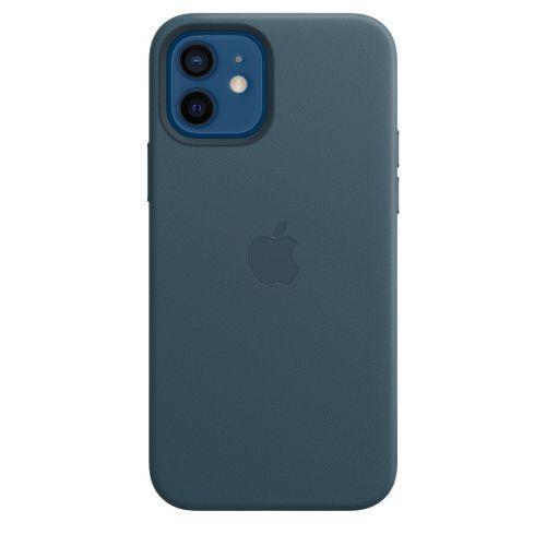 Apple Custodia MagSafe in pelle per iPhone 12 | 12 Pro - Blu Baltico