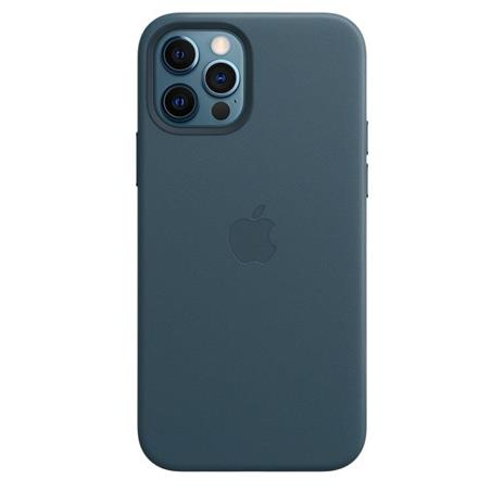 Apple Custodia MagSafe in pelle per iPhone 12 | 12 Pro - Blu Baltico - 3