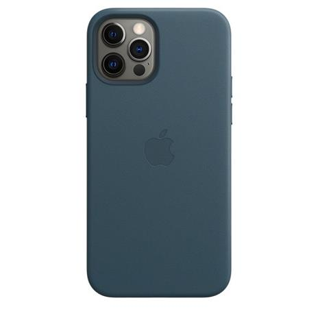 Apple Custodia MagSafe in pelle per iPhone 12 | 12 Pro - Blu Baltico - 5