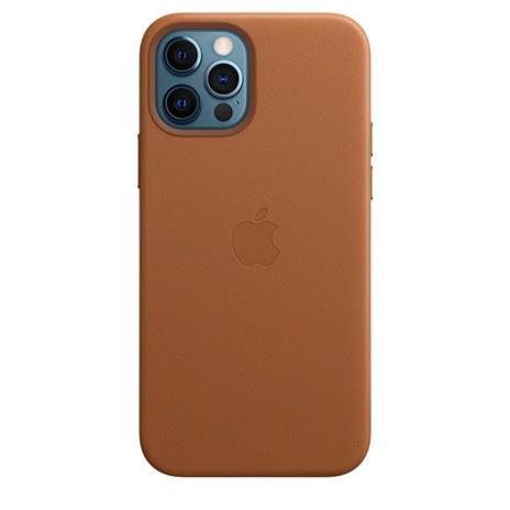Apple Custodia MagSafe in pelle per iPhone 12 | 12 Pro - Cuoio - 3