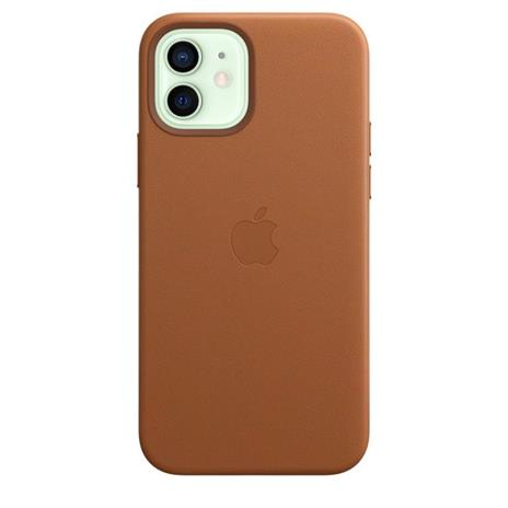 Apple Custodia MagSafe in pelle per iPhone 12 | 12 Pro - Cuoio - 8