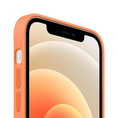 Apple Custodia MagSafe in silicone per iPhone 12 | 12 Pro - Kumquat - 2