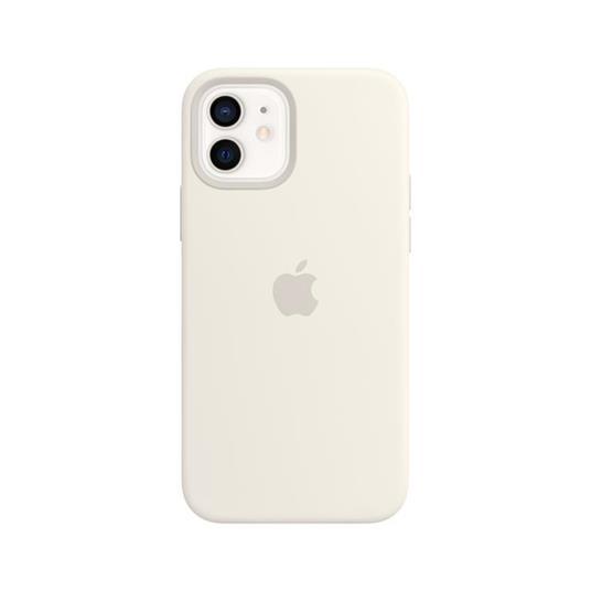 Apple Custodia MagSafe in silicone per iPhone 12 | 12 Pro - Bianco