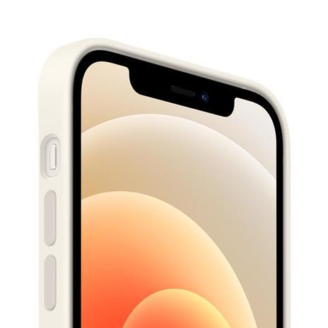 Apple Custodia MagSafe in silicone per iPhone 12 | 12 Pro - Bianco - 2