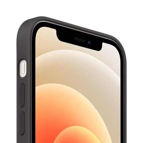 Apple Custodia MagSafe in silicone per iPhone 12 | 12 Pro - Nero - 2