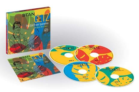 The Girl from Ipanema (Box Set) - CD Audio di Stan Getz