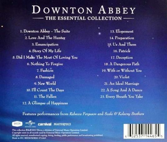 Downton Abbey. The Essential Collection (Colonna sonora) - CD Audio - 2
