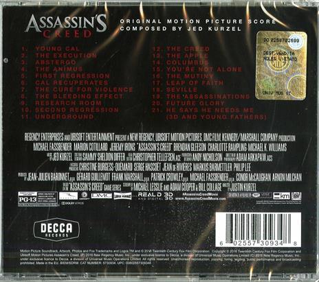 Assassin's Creed (Colonna sonora) - CD Audio - 2