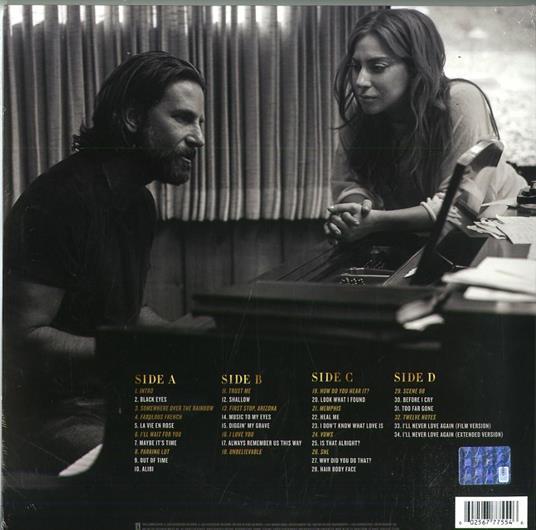 A Star Is Born (Colonna sonora) - Vinile LP di Lady Gaga,Bradley Cooper - 2