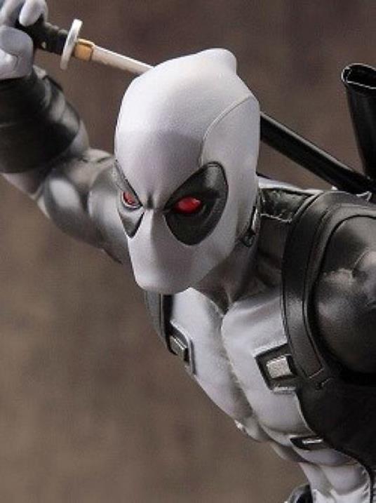 Artfx X Men Marvel Now Deadpool X Force Grey Pvc Statue New!! - 2