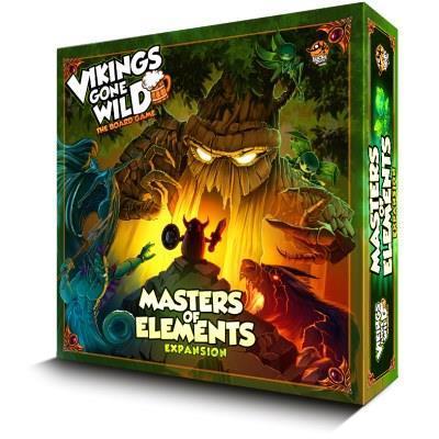 Vikings Gone Wild Masters of Elements (EDIZIONE INGLESE). Gioco da tavolo
