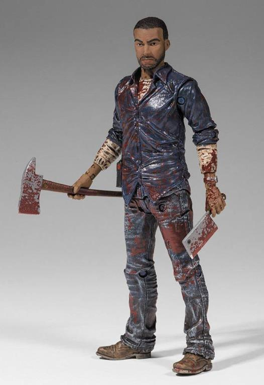 Mcfarlane The Walking Dead Videogame Lee Everett Bloody Action Figure New