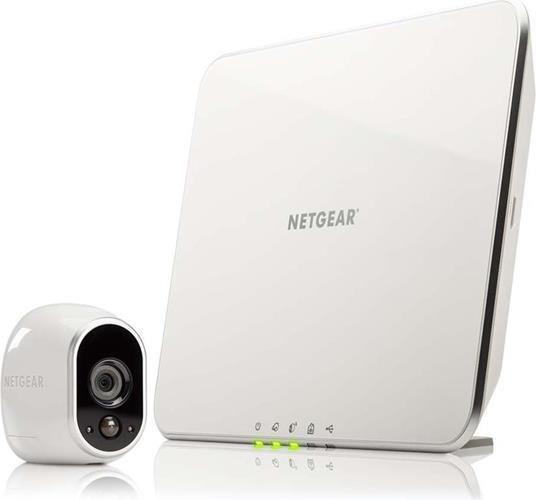 IP Camera Sistema di Sicurezza Netgear Arlo Smart Home Kit 1 + Arlo Station - 8