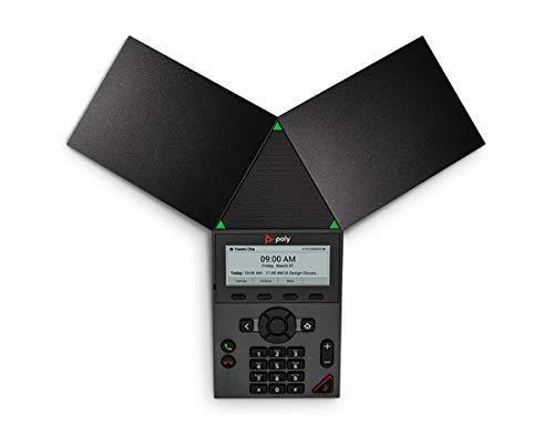 """Poly Sistema di conferenze audio """"Trio 8300 SIP"""", senza alimentatore, Join, PoE, colore: Nero - 3"""