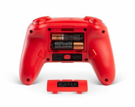 PowerA 1507507 periferica di gioco Gamepad Nintendo Switch Analogico/Digitale Bluetooth Nero, Rosso - 4