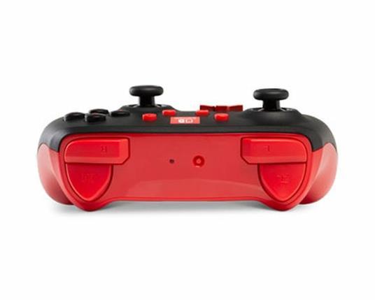 PowerA 1507507 periferica di gioco Gamepad Nintendo Switch Analogico/Digitale Bluetooth Nero, Rosso - 6