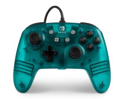 PowerA 1513055 Gamepad Nintendo Switch Analogico USB Verde