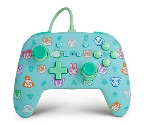 Controller Cablato avanzato PowerA per Nintendo Switch Animal Crossing Nintendo Switch