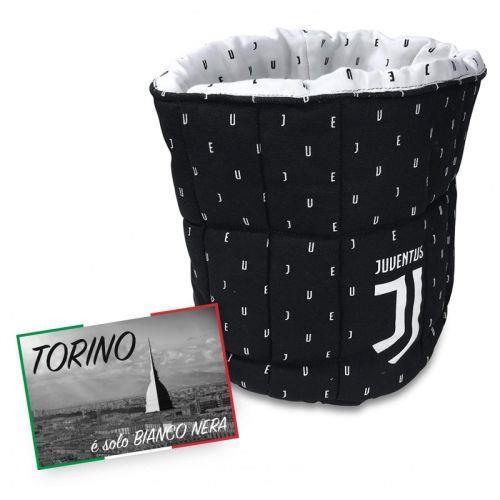 Porta Oggetti a Sacco Juventus e Cartolina