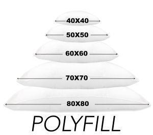 Imbottitura Polyfill Per Cuscino Interno Poliestere Cm. 40X40 - 4