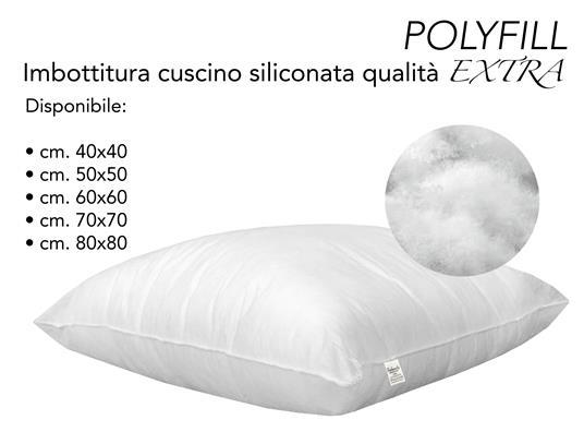 Imbottitura Polyfill Per Cuscino Interno Poliestere Cm. 40X40 - 5