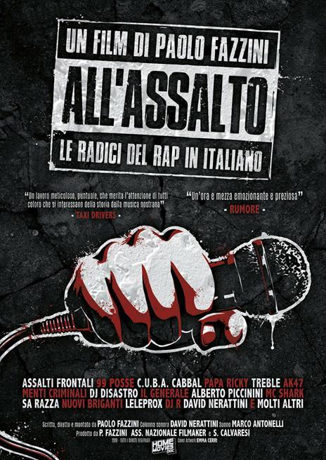 All'assalto. Le radici del rap italiano (DVD) di Paolo Fazzini - DVD
