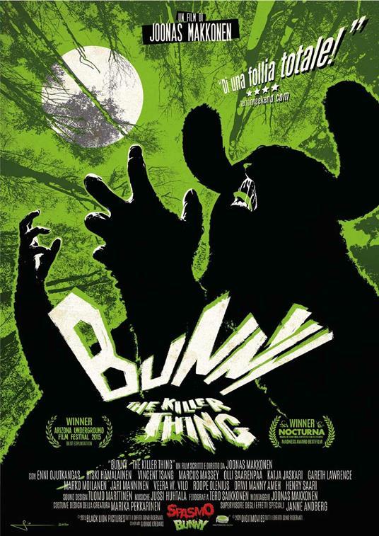 Bunny the Killer Thing (DVD) di Joonas Makkonen - DVD