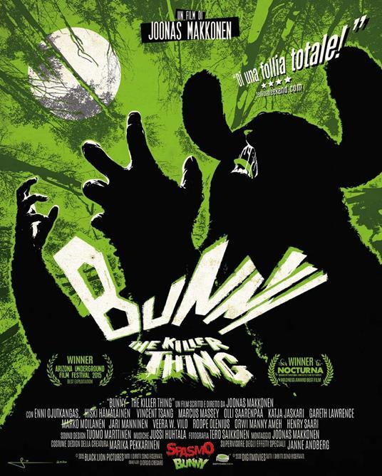Bunny the Killer Thing (Blu-ray) di Joonas Makkonen - Blu-ray