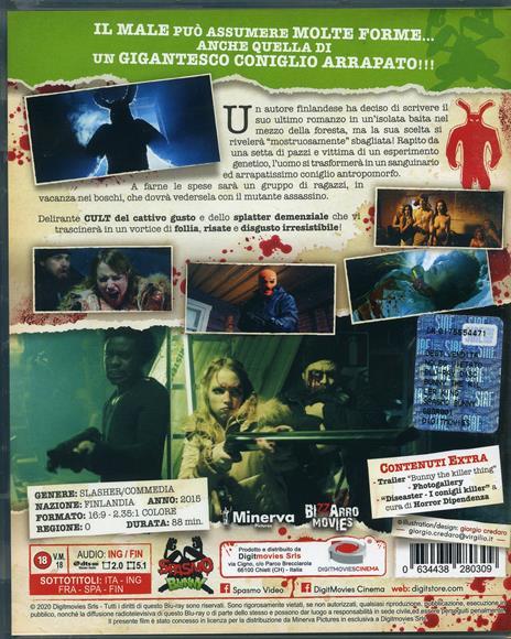 Bunny the Killer Thing (Blu-ray) di Joonas Makkonen - Blu-ray - 2