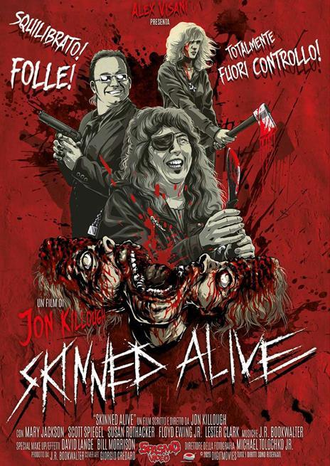 Skinned Alive (DVD) di Jon Killough - DVD