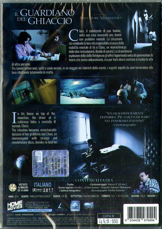 Il guardiano del ghiaccio (DVD) di Salvatore Metastasio - DVD - 2