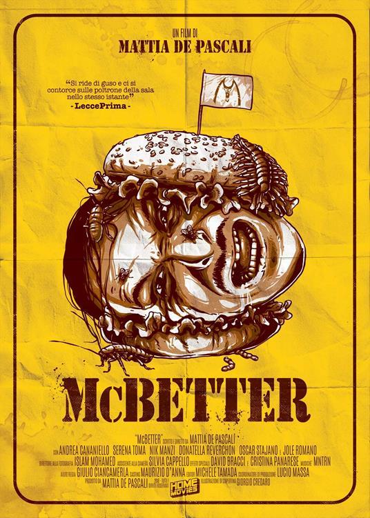 McBetter. Limited Edition (DVD) di Mattia De Pascali - DVD