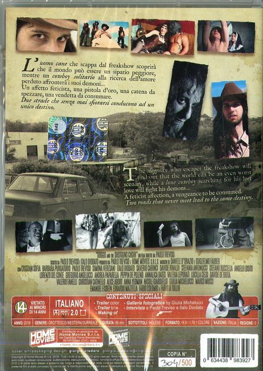 Doggo and the Shotguns Choir (DVD) di Paolo Treviso - DVD - 2