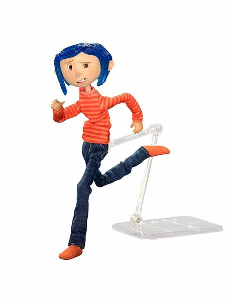 Coraline In Striped Shirt And Jeans Fig. Coraline In Striped Shirt And Jeans Fig
