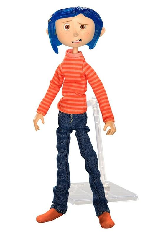 Coraline In Striped Shirt And Jeans Fig. Coraline In Striped Shirt And Jeans Fig - 2